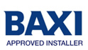 Baxi approved boiler installer